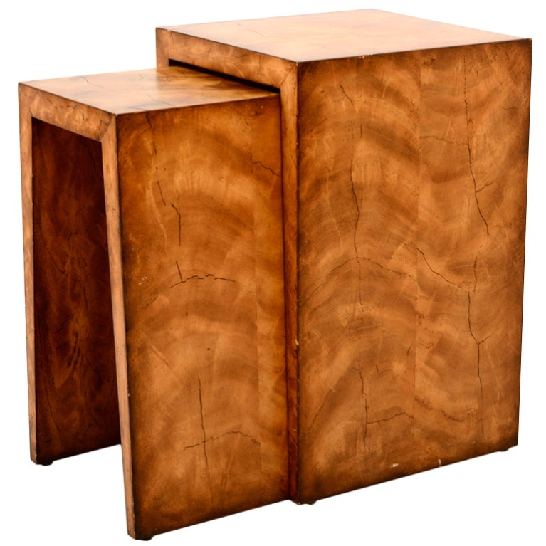 Theodore Alexander Nesting Tables At 1stdibs
