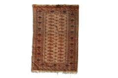 Antique Persian Praying Rug, 1920s