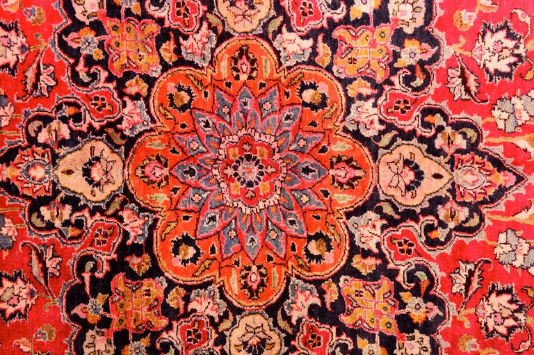 Bakshaish Large Persian Rug Signed For Sale
