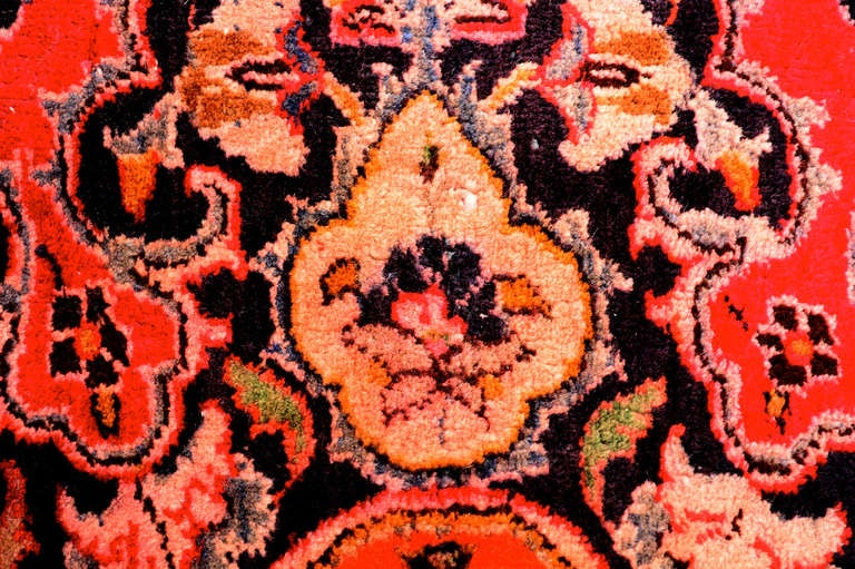 Large Persian Rug Signed For Sale 1