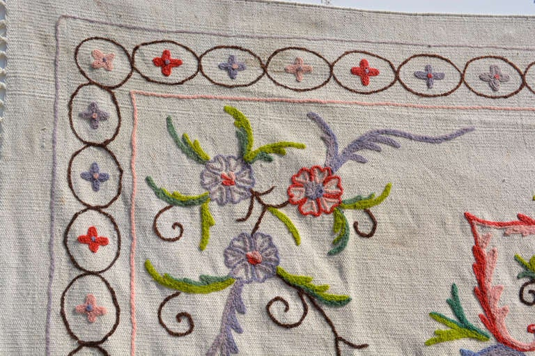 Unknown Antique Vintage Blanket Wall Tapestry For Sale