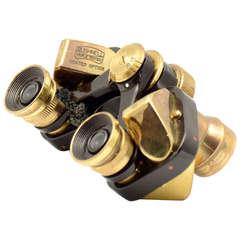 Bushnell 6 x 15 Brass Opera Binoculars with Leather