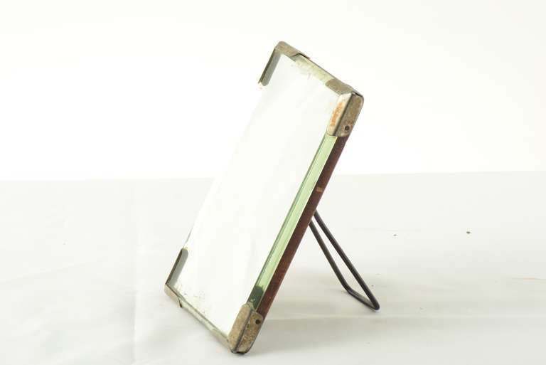 Art nouveau small table wall mirror for sale at 1stdibs for Small wall mirrors for sale