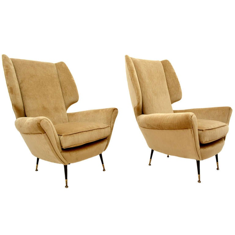 Paolo Buffa Club Chairs At 1stdibs