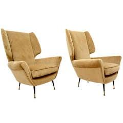 Paolo Buffa Club Chairs