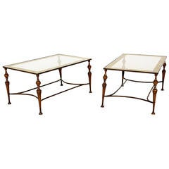 Pair of Bronze Artur Pani Tables