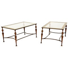 Pair of Bronze Artur Pani Tables