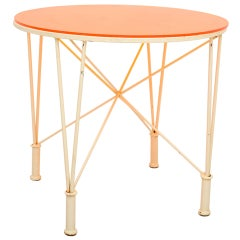 Ocasional Side Table In the Manner of Frank Lloyd Wright