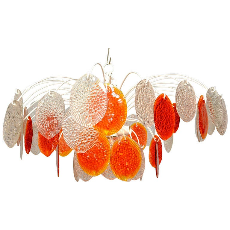 Hanging Chandelier by Feders