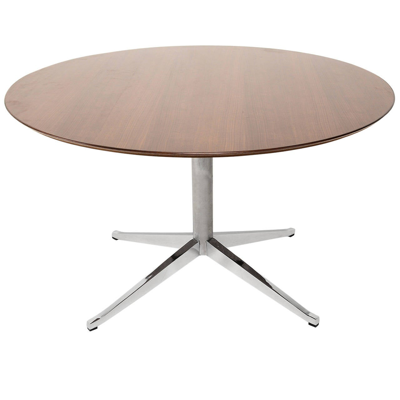 Knoll round conference or dining table for sale at 1stdibs for Round dining room tables for sale