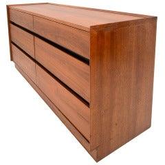 Mid Century Modern Double Dresser