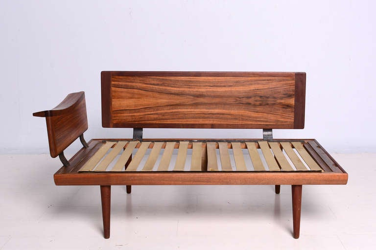 Brazilian Rosewood Sofa And Table Set At 1stdibs
