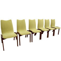 Chet Beardsley  Set of Six Dining Chairs