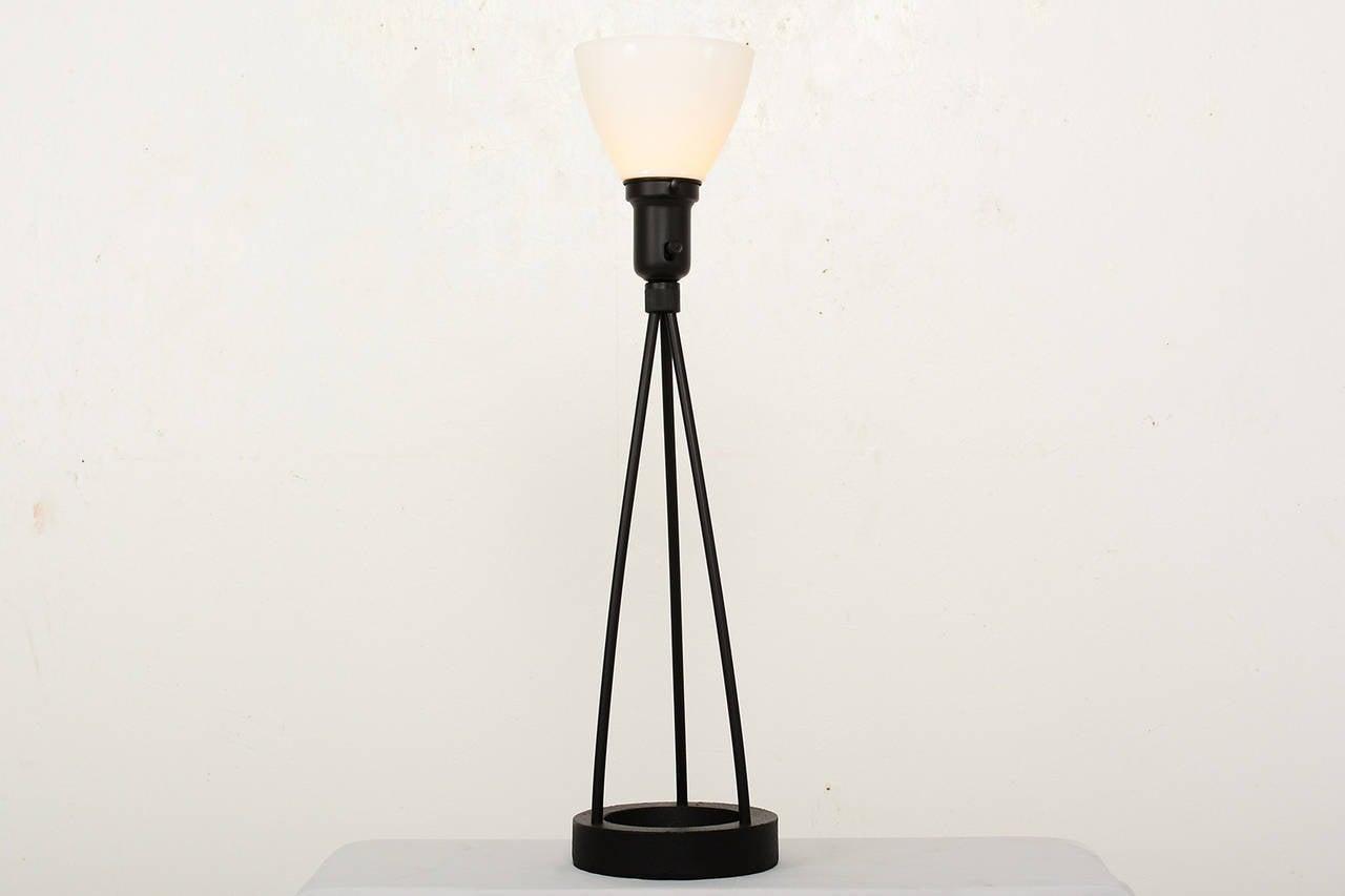 Painted Mid Century Modern Robert Bulmore Table Lamp