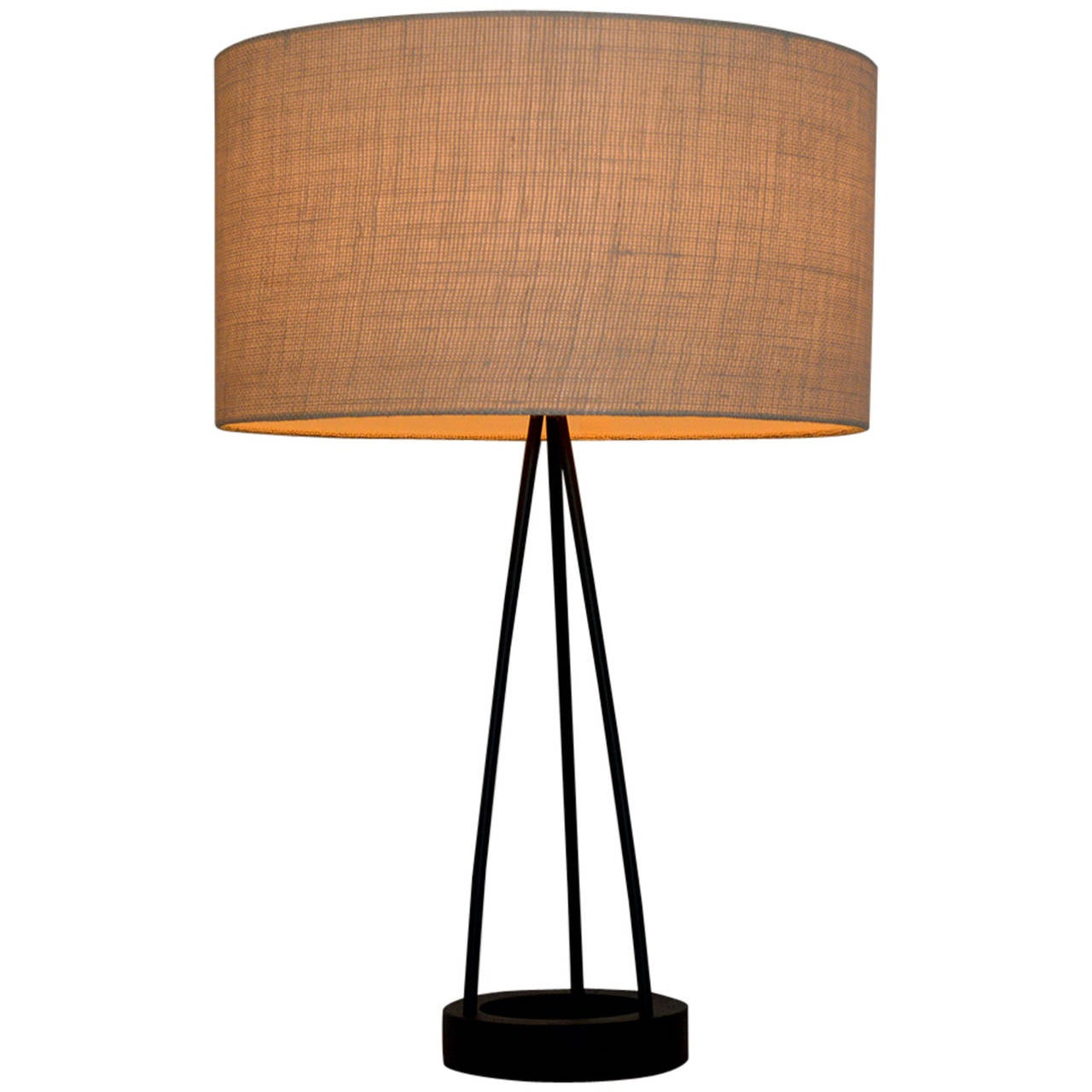 mid century modern robert bulmore table lamp for sale at 1stdibs. Black Bedroom Furniture Sets. Home Design Ideas
