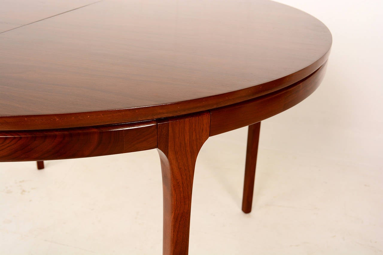 this walnut oval dining table mid century is no longer available