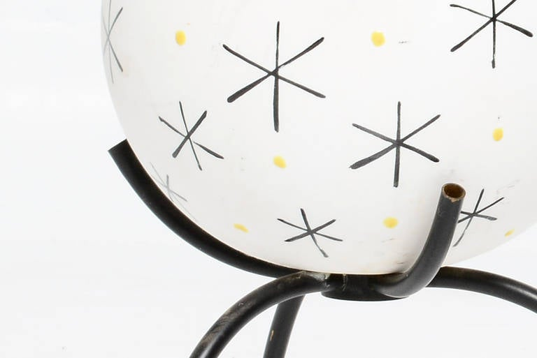 Mid-Century Modern Mid-Century Single Ceramic Table Lamp For Sale