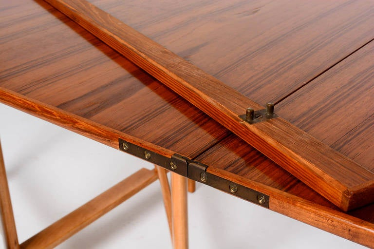 Maria Teak Table By Bruno Mathsson In Excellent Condition