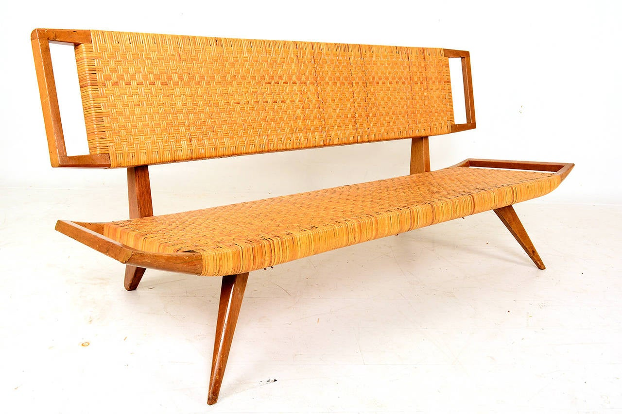 Paul laszlo settee for sale at 1stdibs for Settees for sale