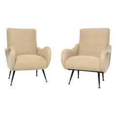 Pair of Italian Chairs by Marco Zanuso