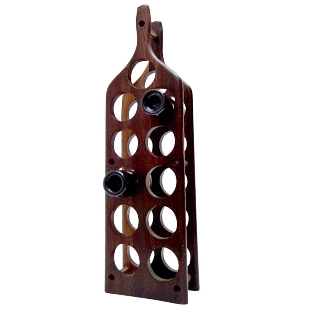 Cocobolo Wine Rack
