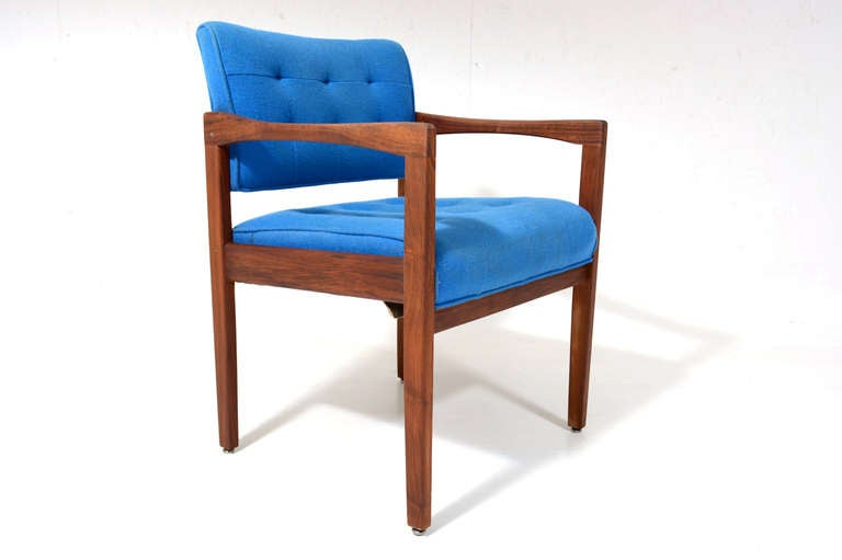 American Mid-Century Modern Office Chair For Sale