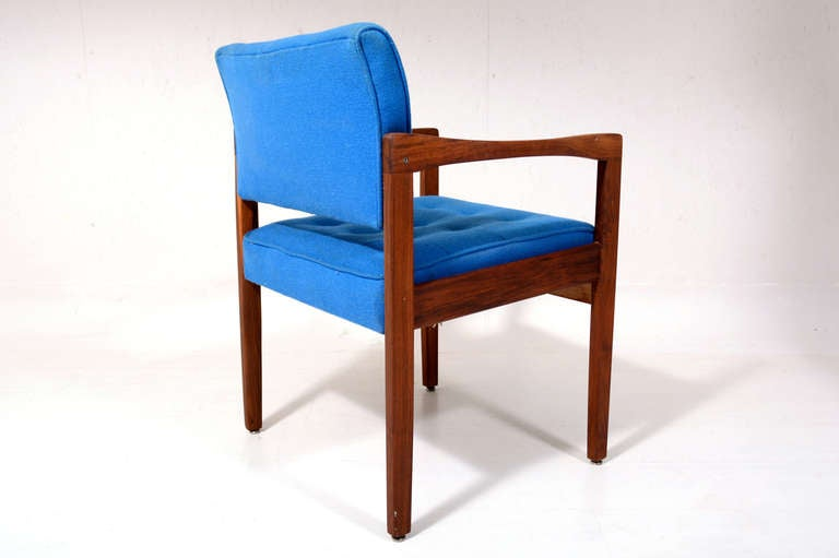 Mid-Century Modern Office Chair In Good Condition For Sale In National City, CA