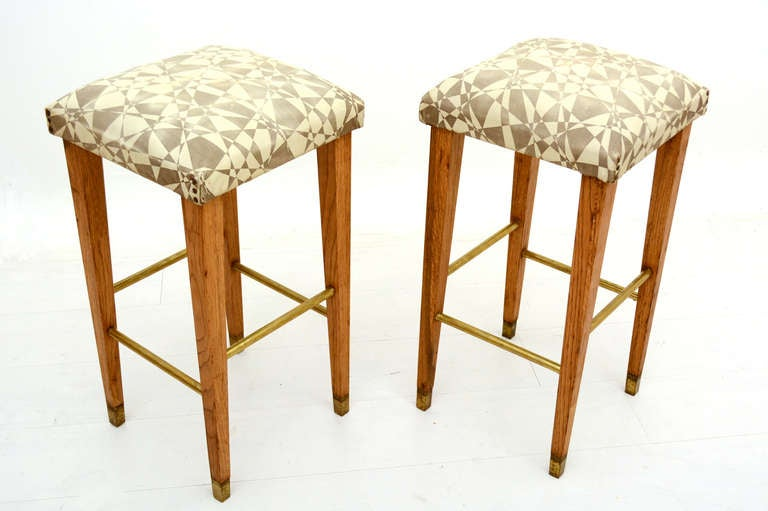Pair of Mid Century Modern Bar Stools For Sale at 1stdibs : PairBarstoolsMex8l from www.1stdibs.com size 768 x 511 jpeg 41kB