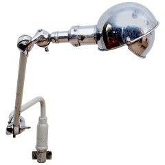 Industrial Dentist Lamp, Mid Century Period