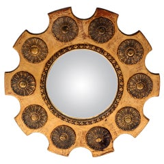 Custom-Made Baroque Mirror
