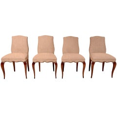 Set of Four Chairs by Arturo Pani