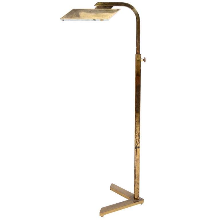 Awesome Best Reading Floor Lamp #1: BrassPharmacyReadingLamp3_l.jpg
