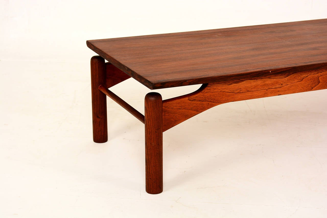 First Edition Greta Grossman Low Coffee Table At 1stdibs