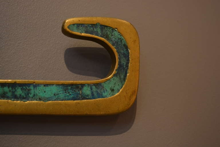 Mid-Century Modern Pepe Mendoza Style Wall Sculpture For Sale