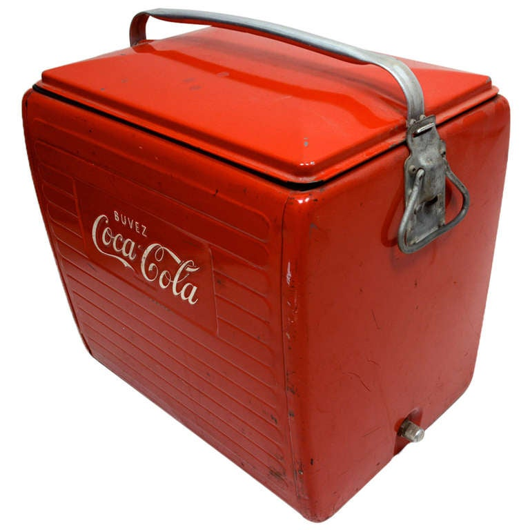 Antique Shopping in New London at Water Street Vintage ...  Old Coca Cola Coolers