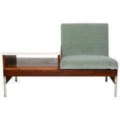 Mid-Century Seat and Table in the Manner of Vista of California