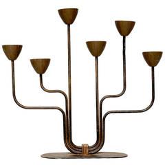 Ystad Mettal Vintage Candleholder