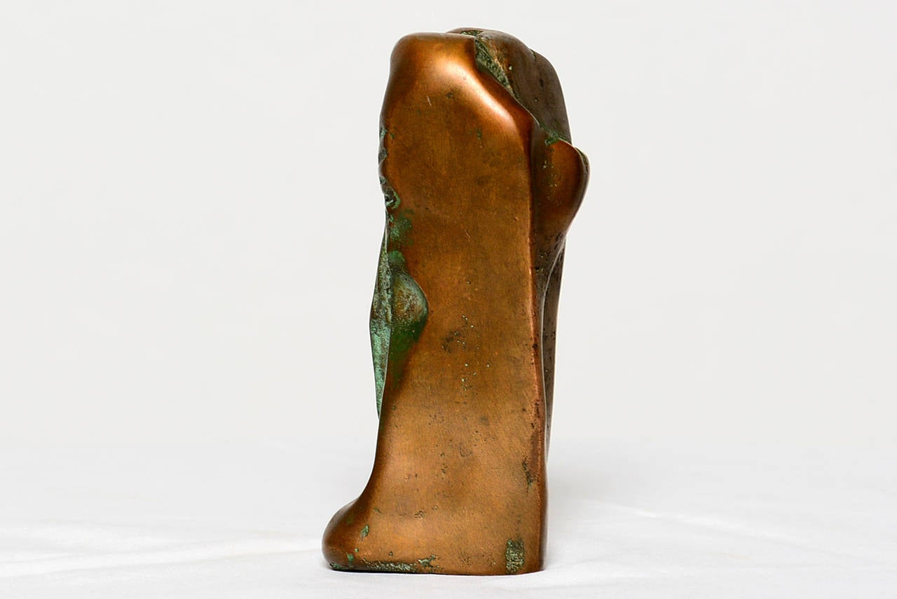 Unknown Small Abstract Bronze Sculpture in the Manner of Boyd For Sale