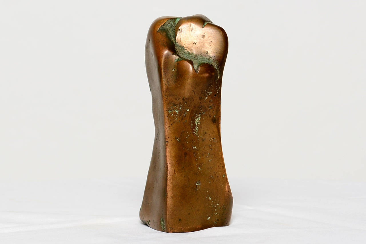 Small Abstract Bronze Sculpture in the Manner of Boyd In Excellent Condition For Sale In National City, CA