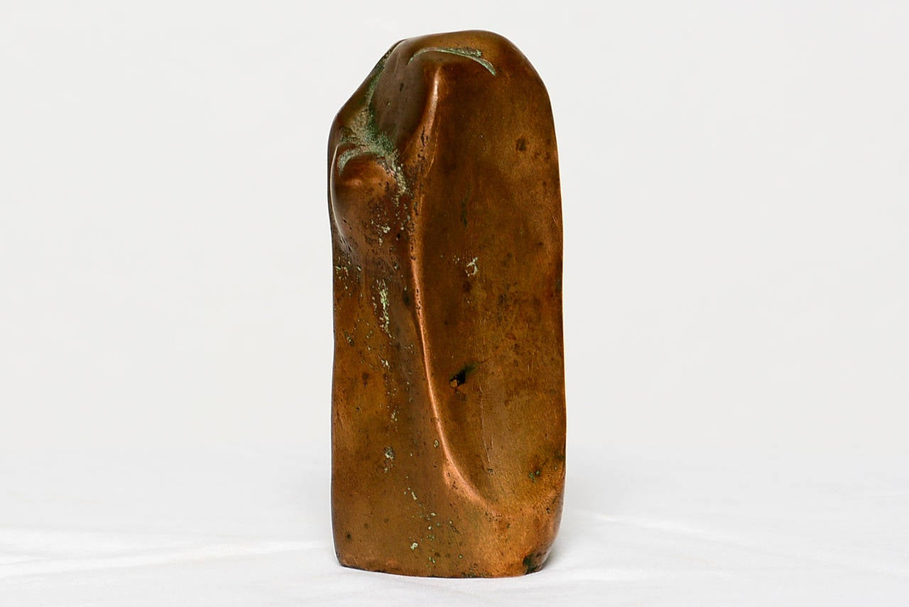 Mid-20th Century Small Abstract Bronze Sculpture in the Manner of Boyd For Sale