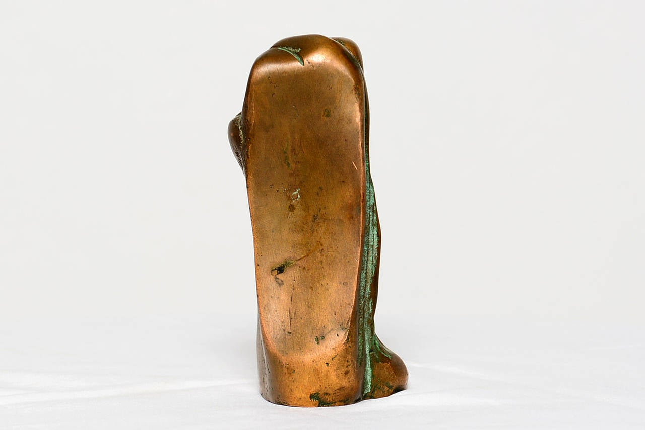 Small Abstract Bronze Sculpture in the Manner of Boyd For Sale 1