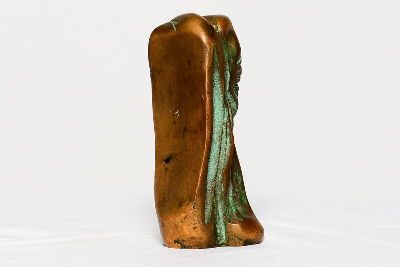Small Abstract Bronze Sculpture in the Manner of Boyd For Sale 2