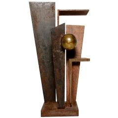 Amazing Iron and Bronze Sculpture