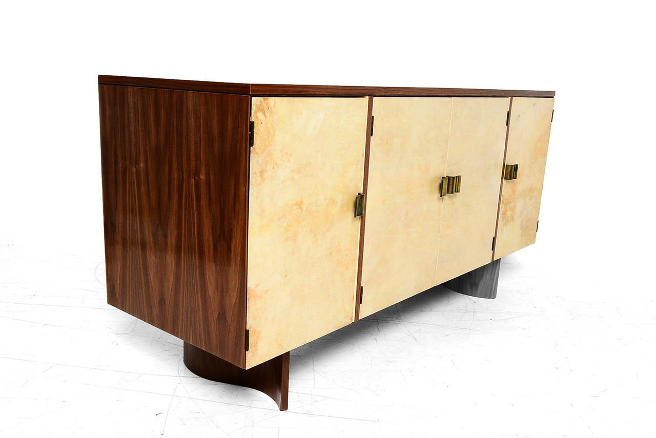 Eliel saarinen custom credenza for johnson furniture at for Eliel saarinen furniture