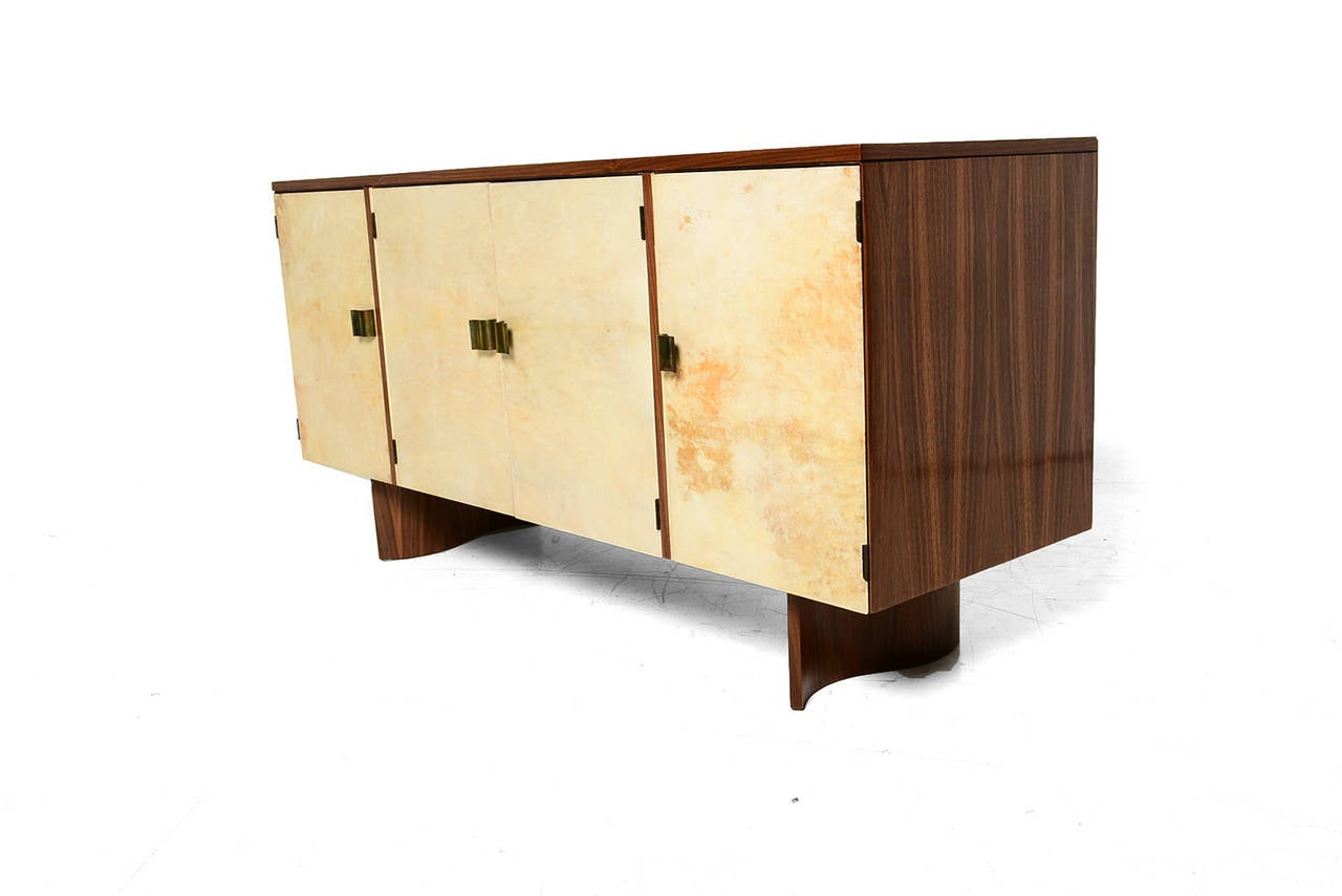 Eliel Saarinen Custom Credenza For Johnson Furniture At