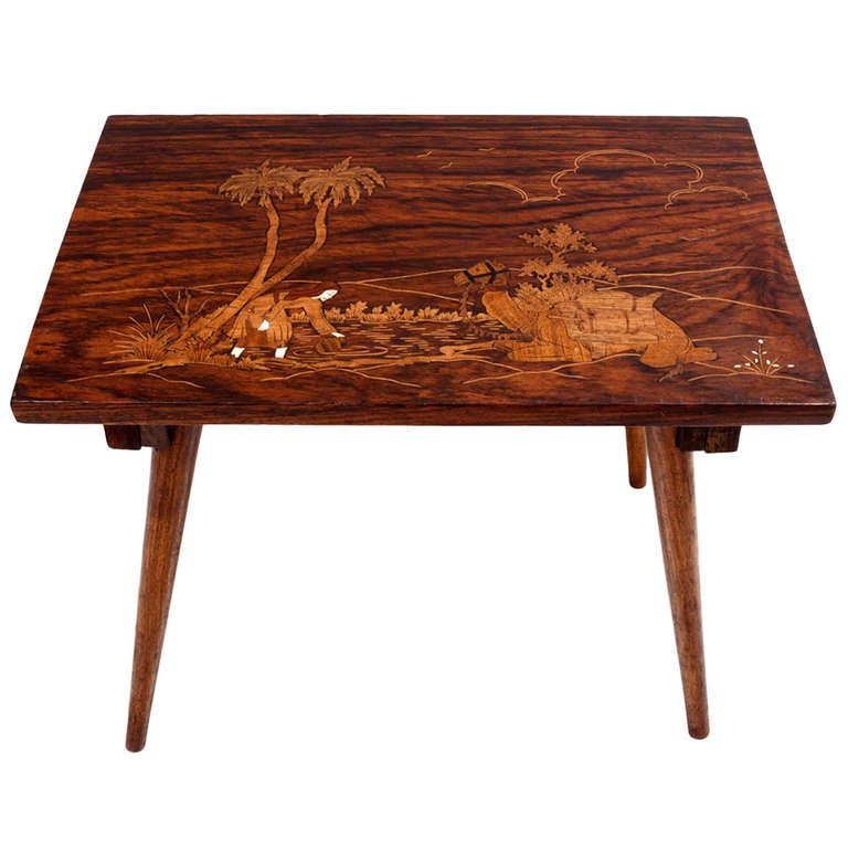 Antique Solid Rosewood Table For Sale - Antique Solid Rosewood Table For Sale At 1stdibs
