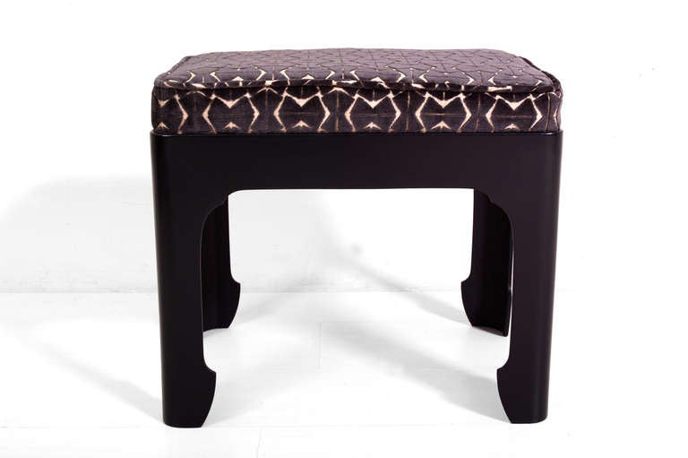 Italian Unique Bench Stool For Sale