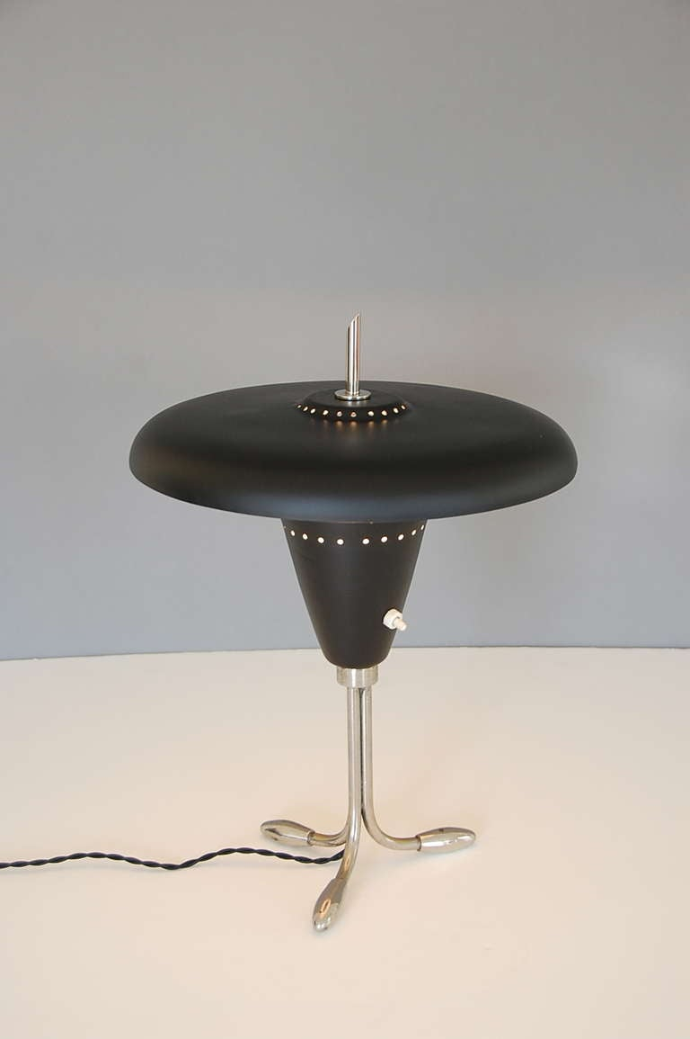 1950s American Table Lamp In Excellent Condition For Sale In Los Angeles, CA
