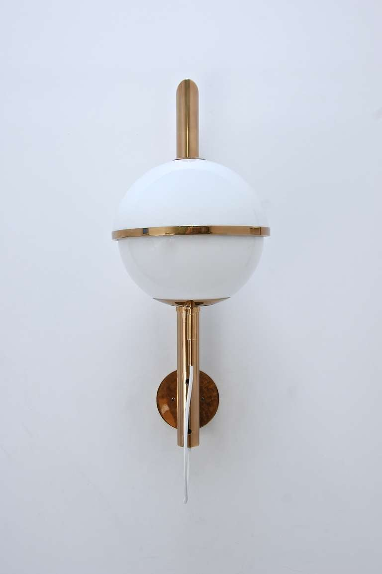 Large Artemide Wall Lamps In Excellent Condition For Sale In Los Angeles, CA