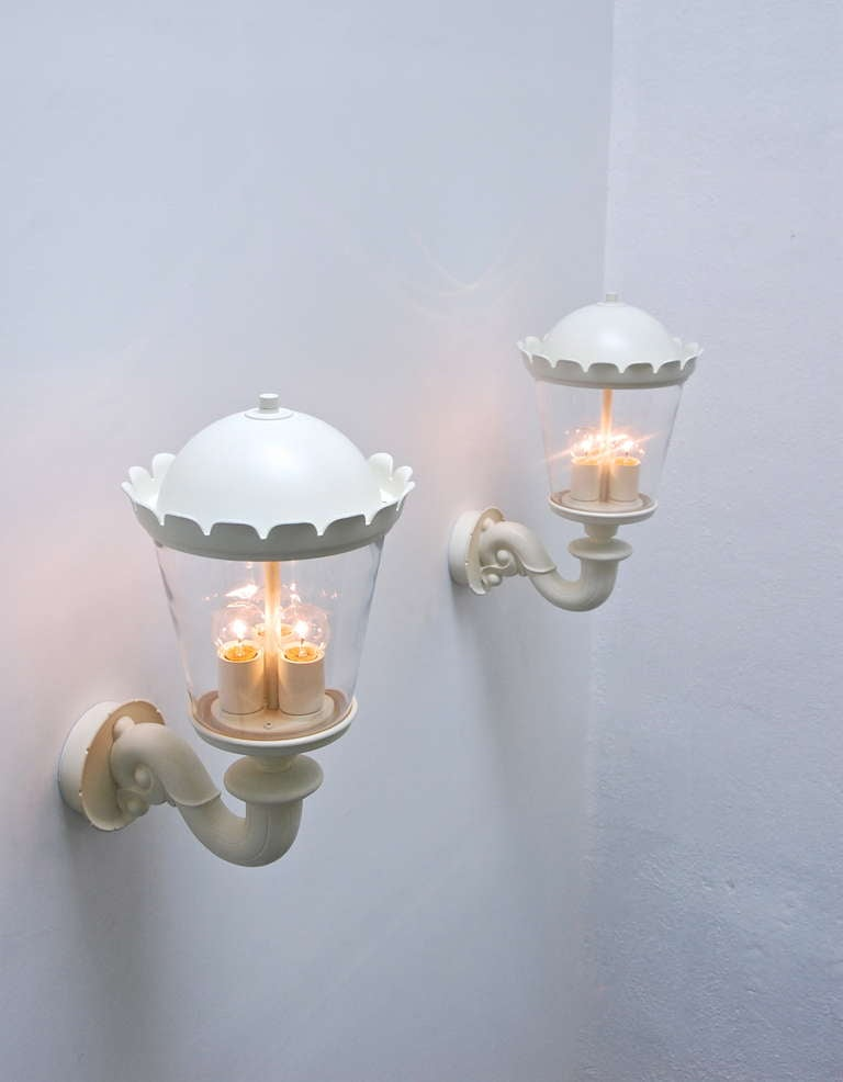 Outdoor Sconce 1960s Germany at 1stdibs